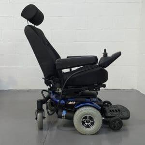 Large Blue Power Chair