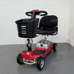Red Portable Lightweight Scooter