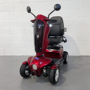 Red Mid Size Mobility Scooter